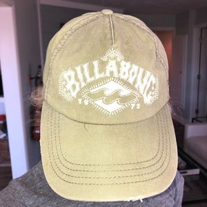 Billabong Women's Distressed Logo Hat